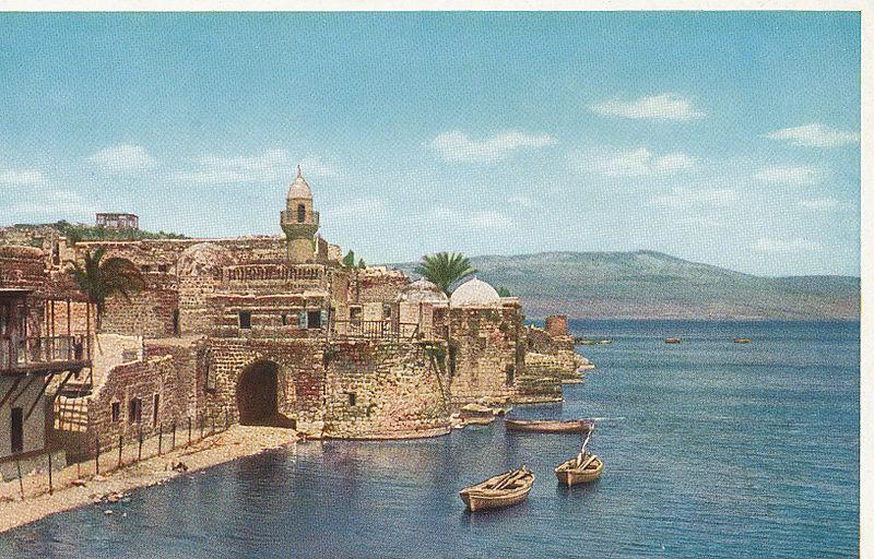 vue-tibériade-vers-1920