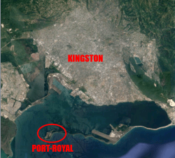 vue-satellite-port-royal-kingston-jamaïque