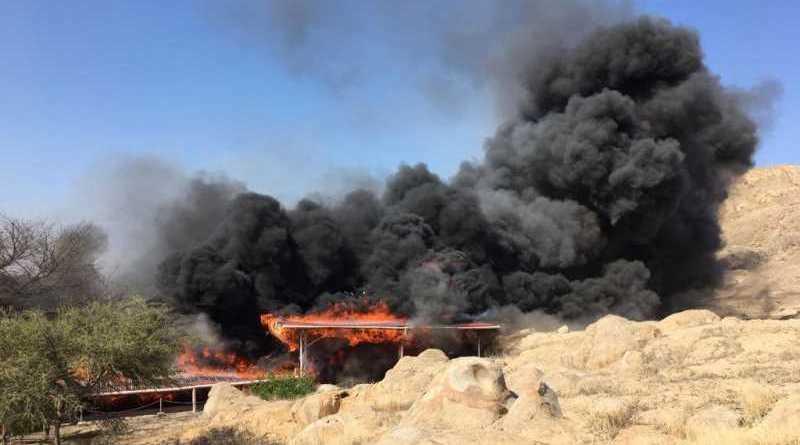 incendie temple Ventarron Pérou
