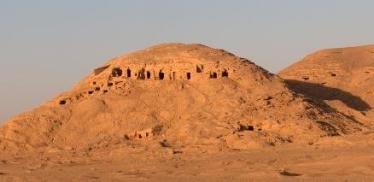 burg el-hamman colline pigeons necropole nekhen hierakonpolis