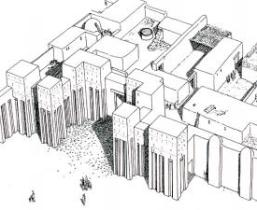 palais egypte predynastique hierakonpolis nekhen
