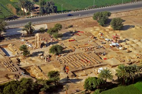 temple funéraire Amenhotep III