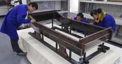17 ans d'effort pour restaurer un lit-dragon chinois vieux de 2500 ans