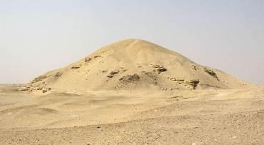 pyramide Amenemhat Ier à Licht