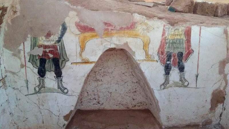Tombes d'époque romaine fouillées dans l'oasis égyptienne de Dakhla