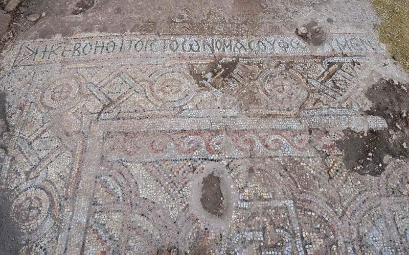 Fouilles d'un immense complexe religieux byzantin à Chypre