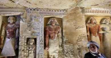 Somptueuse tombe de l'Ancien Empire retrouvée à Saqqarah