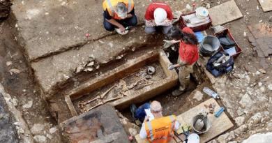 Sarcophage du VIIe siècle découvert à Cahors