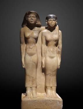 statue-reines-hetepheres-et-meresankh-égypte