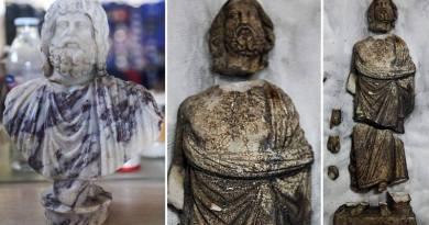 Turquie: statues des dieux Sérapis et Asclépios découvertes à Kibyra
