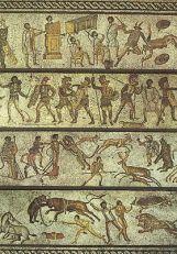 Cirque dans l'Empiure romain