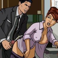Come on , Archer! Cheryl has not even taken off her shirt yet!