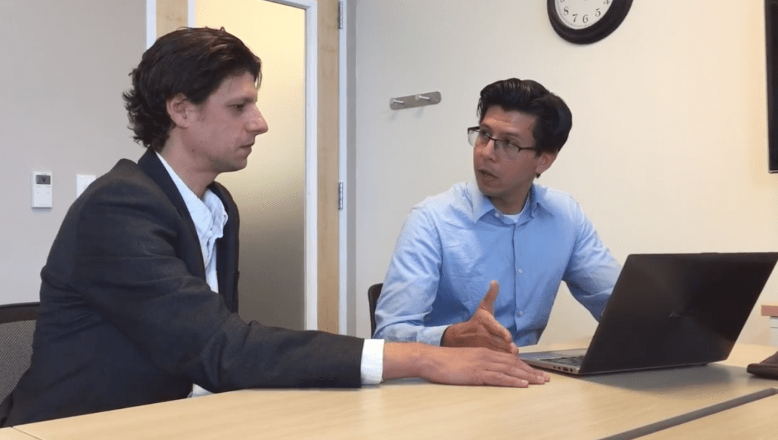 Researchers discuss their solar inverter security project.