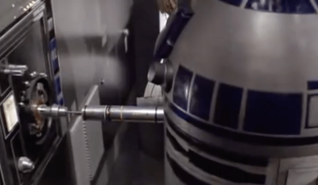 R2D2 hacks the Death Star & possibly a PLC