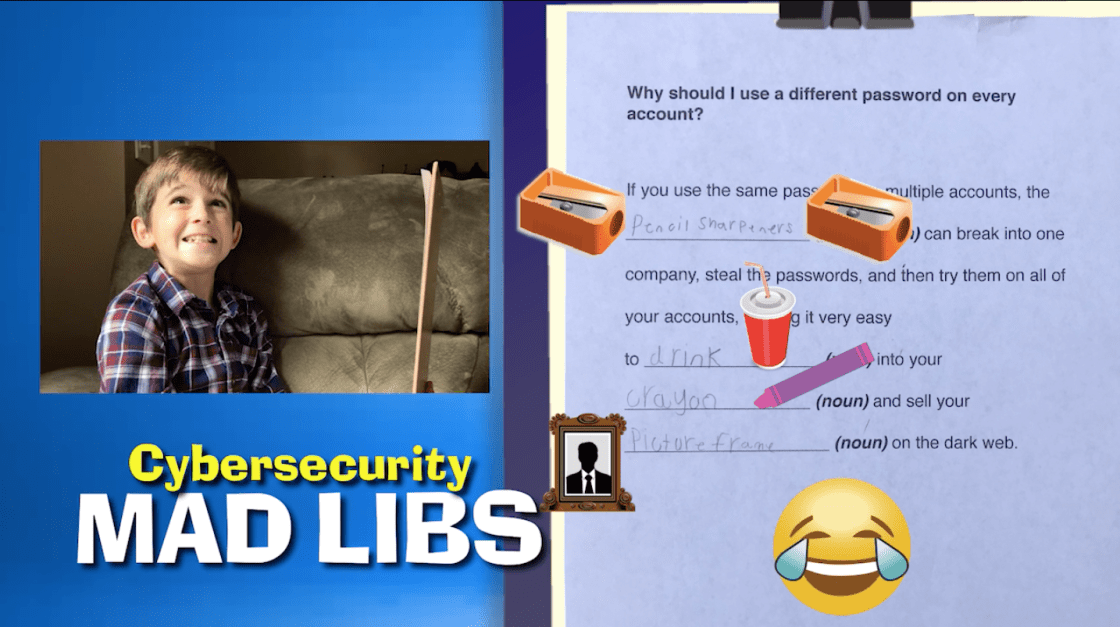 Cybersecurity Mad Libs answers