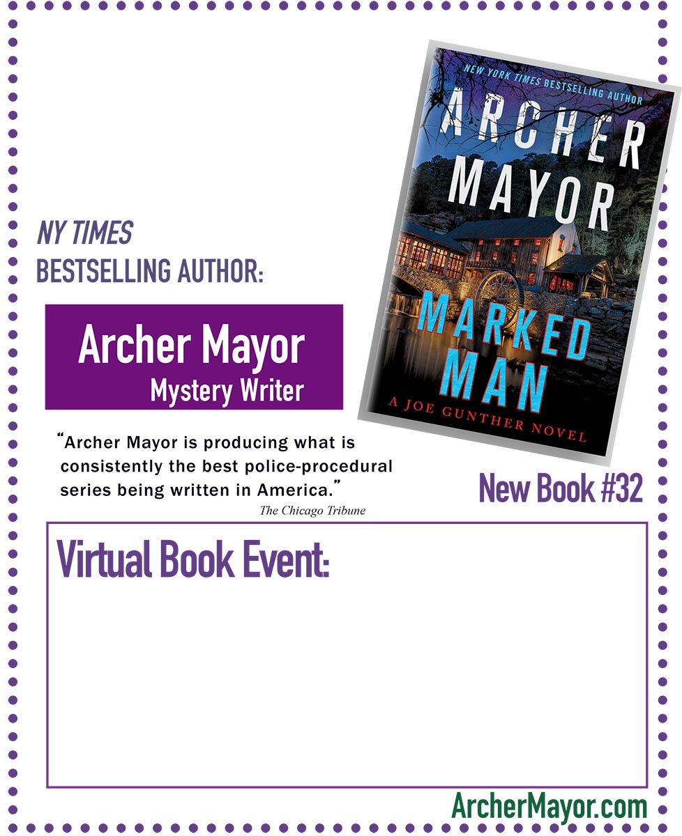 Marked Man Virtual Event Poster