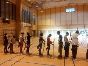 Dernière Séance de l'année pour nos jeunes archers
