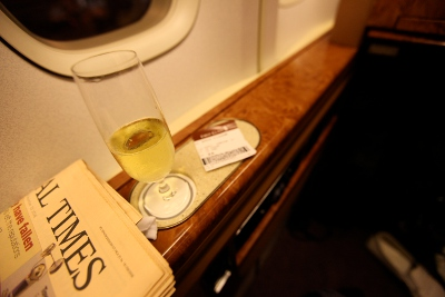 Singapore Airlines First Class (747) by Richard Moross