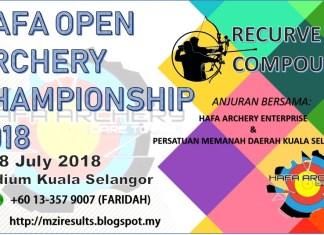 hafa open archery 2018