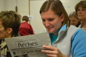 Elise Jager searches for past classmates in Arches Issue from October 2006.