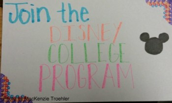 Join the Disney college program