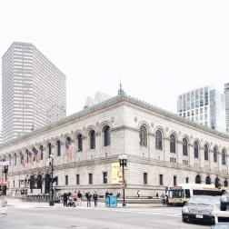 Boston Public Library. Picture by: Desi Ayu
