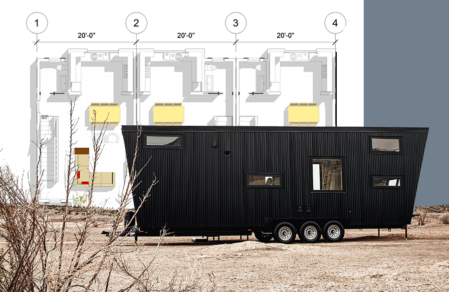 Tiny Home: Architectural growth of Houses on wheels