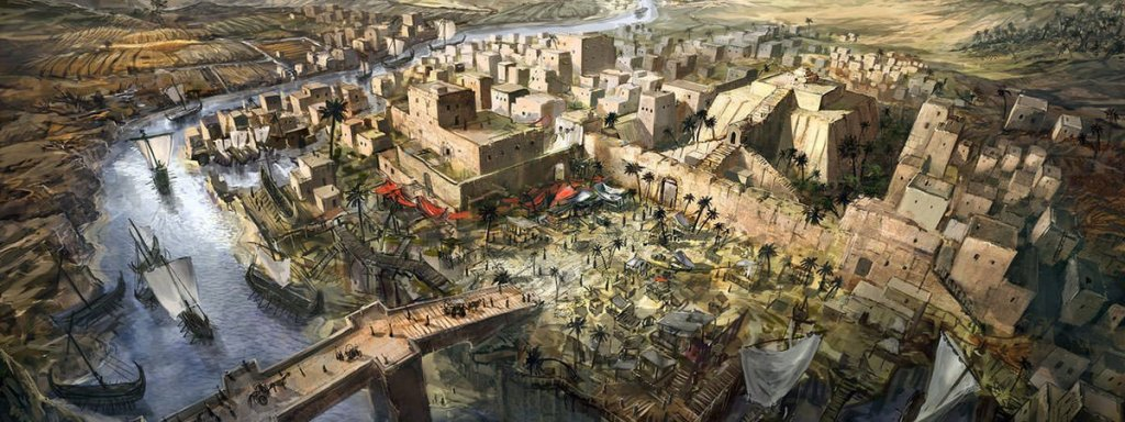 Mesopotamia - an artist's view of ancient civilizations