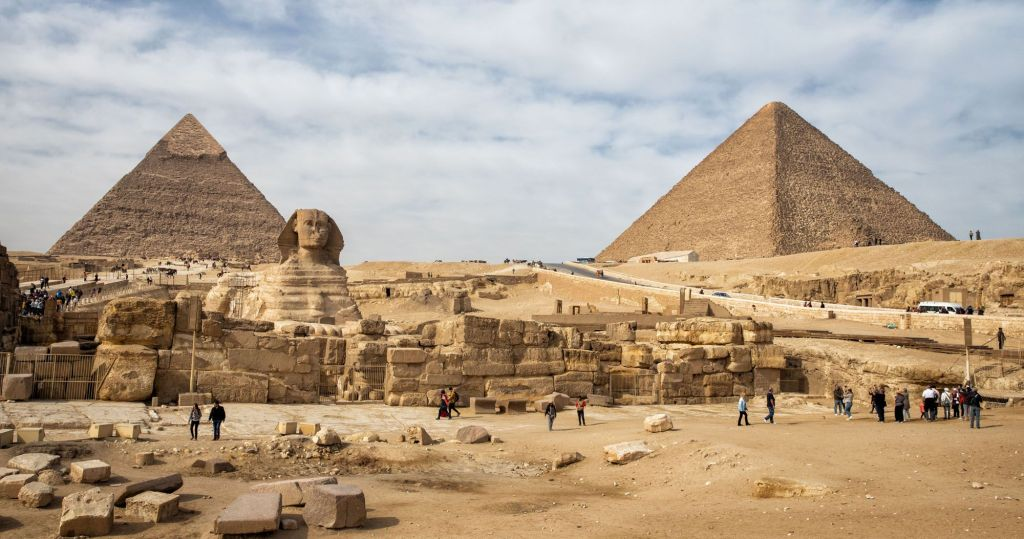 The history of architecture: Egyptian pyramids