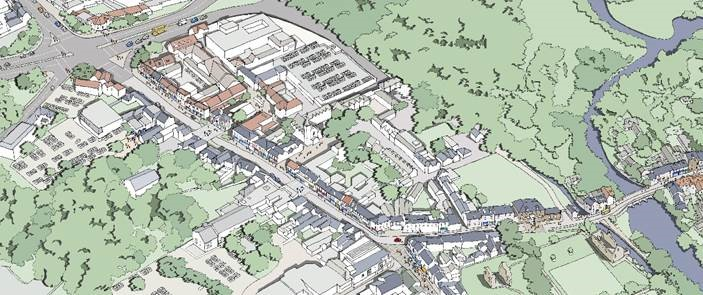 POTENTIAL AERIAL VIEW OF HIGH STREET