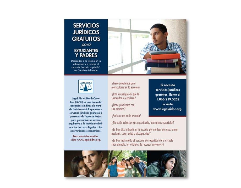 graphic design sample poster spanish