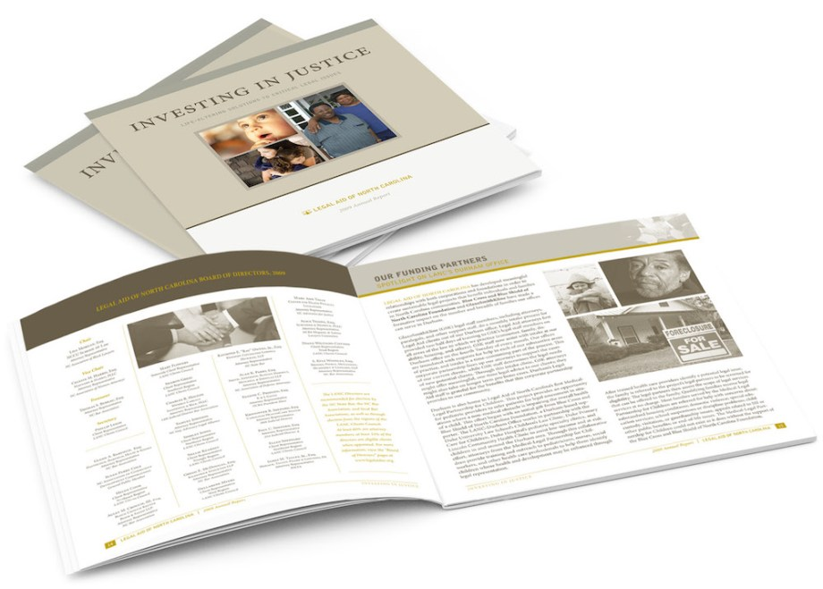 graphic design sample annual report