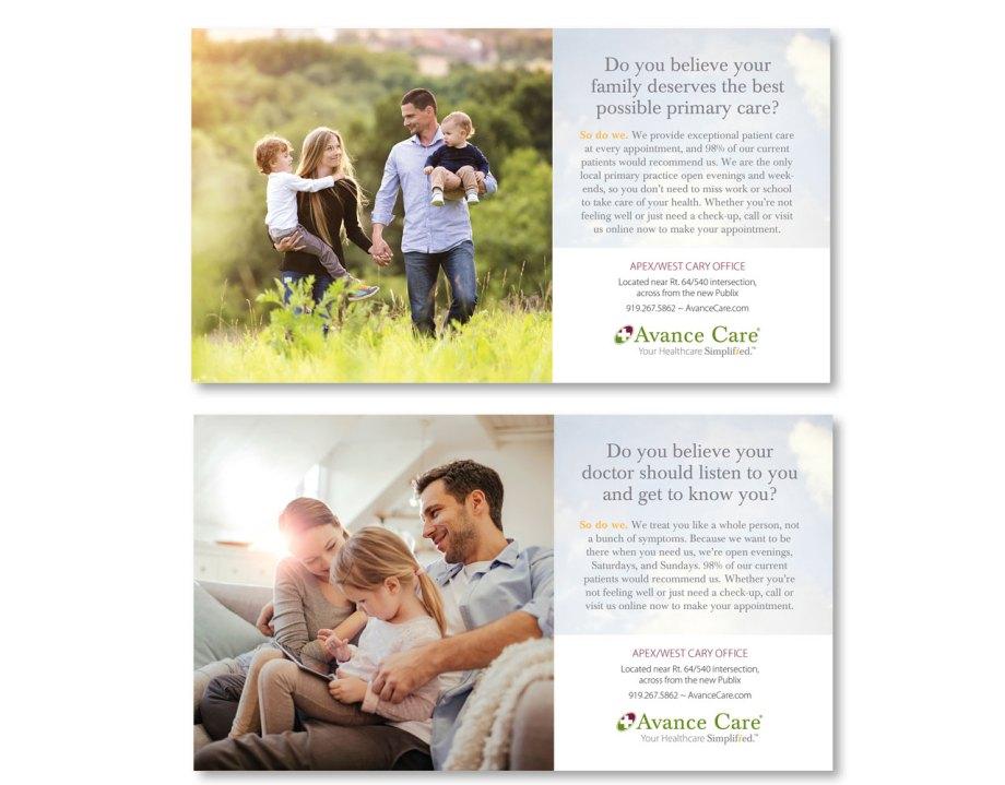 graphic design sample direct mail design samples