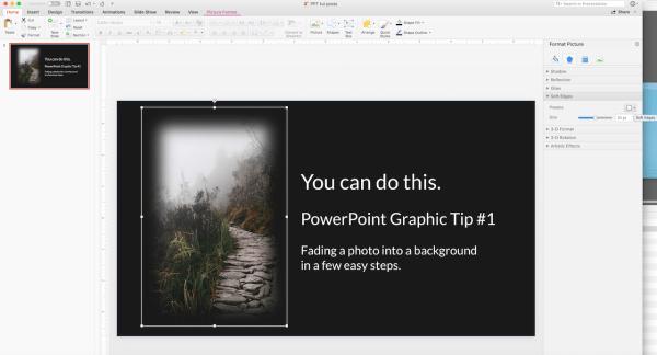 Powerpoint graphic design tip