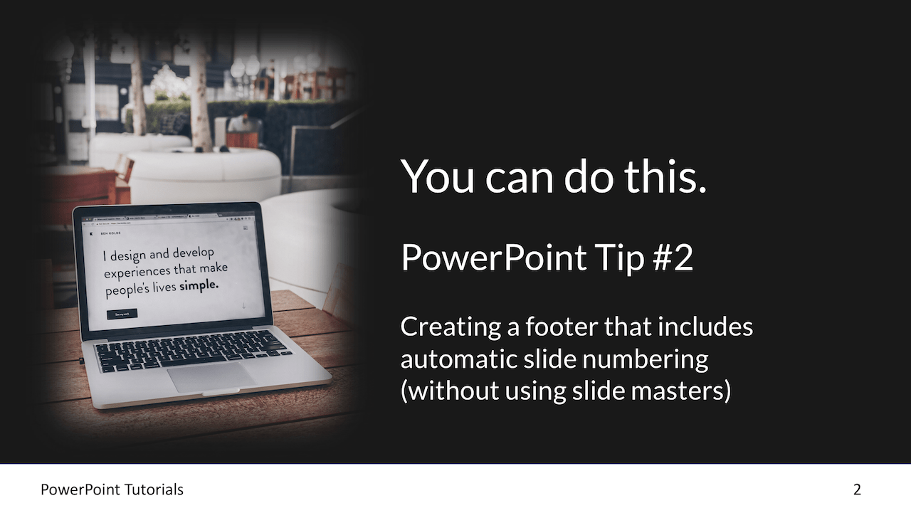 Powerpoint graphic designers tips Tutorial