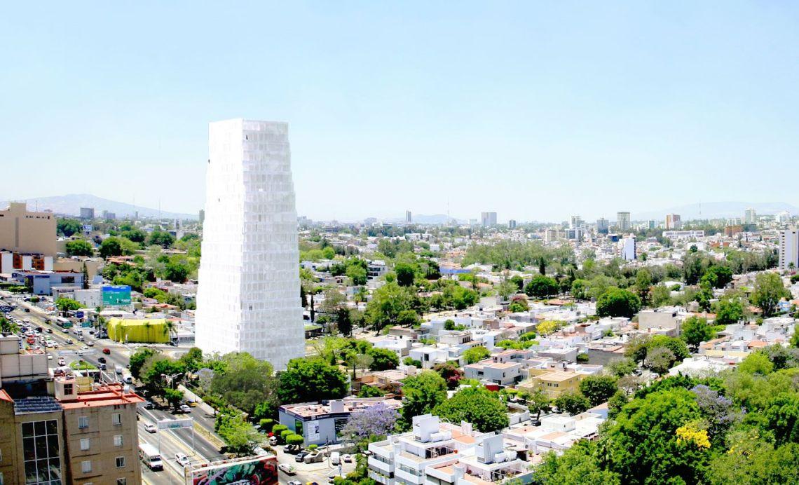 SANAA Neruda Tower in Mexico