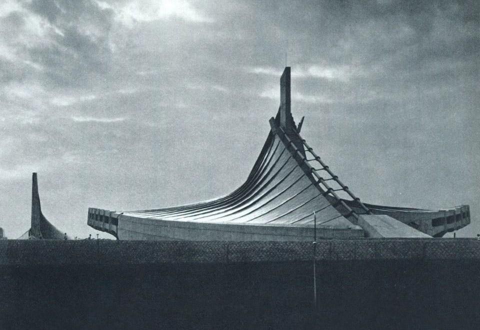 Yoyogi National Gymnasium / Kenzo Tange