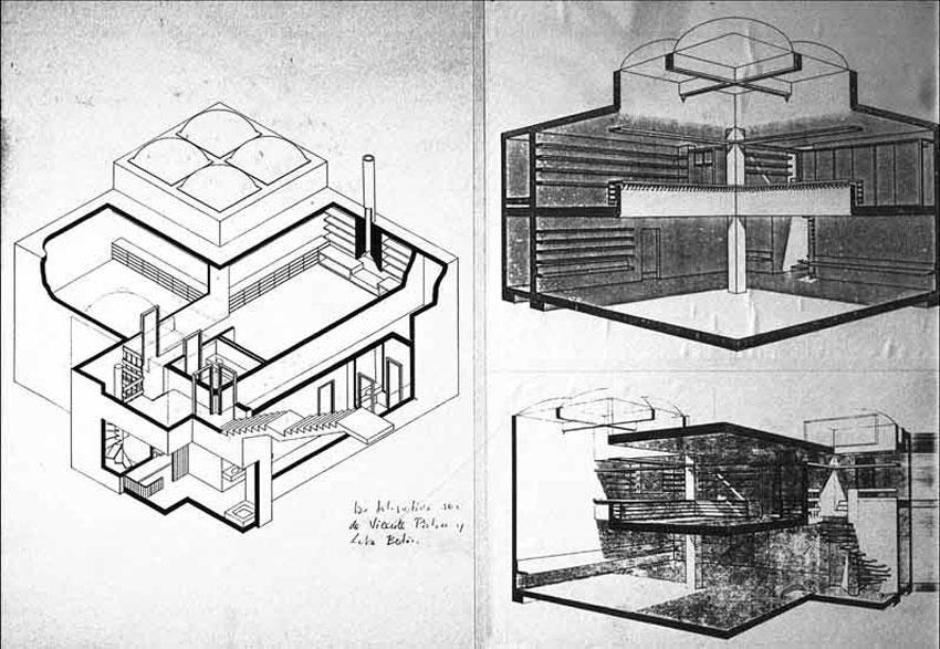 Hellscraper or the Cave house / Fernando Higueras