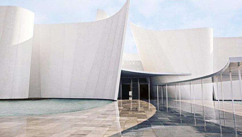International Baroque Museum in Puebla / Toyo Ito