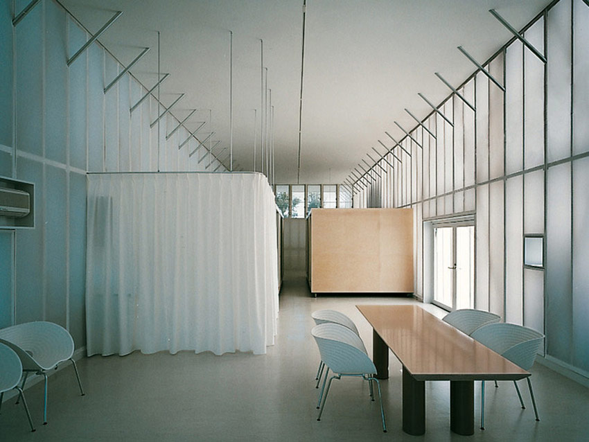 Curtains and Glass walls