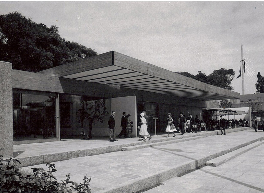 Norwegian Pavilion for the 1958 Brussels World Exhibition