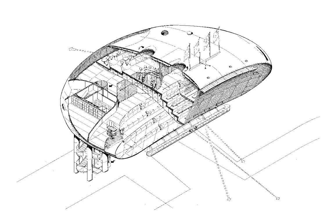 Jan Kaplický Drawings / Future Systems