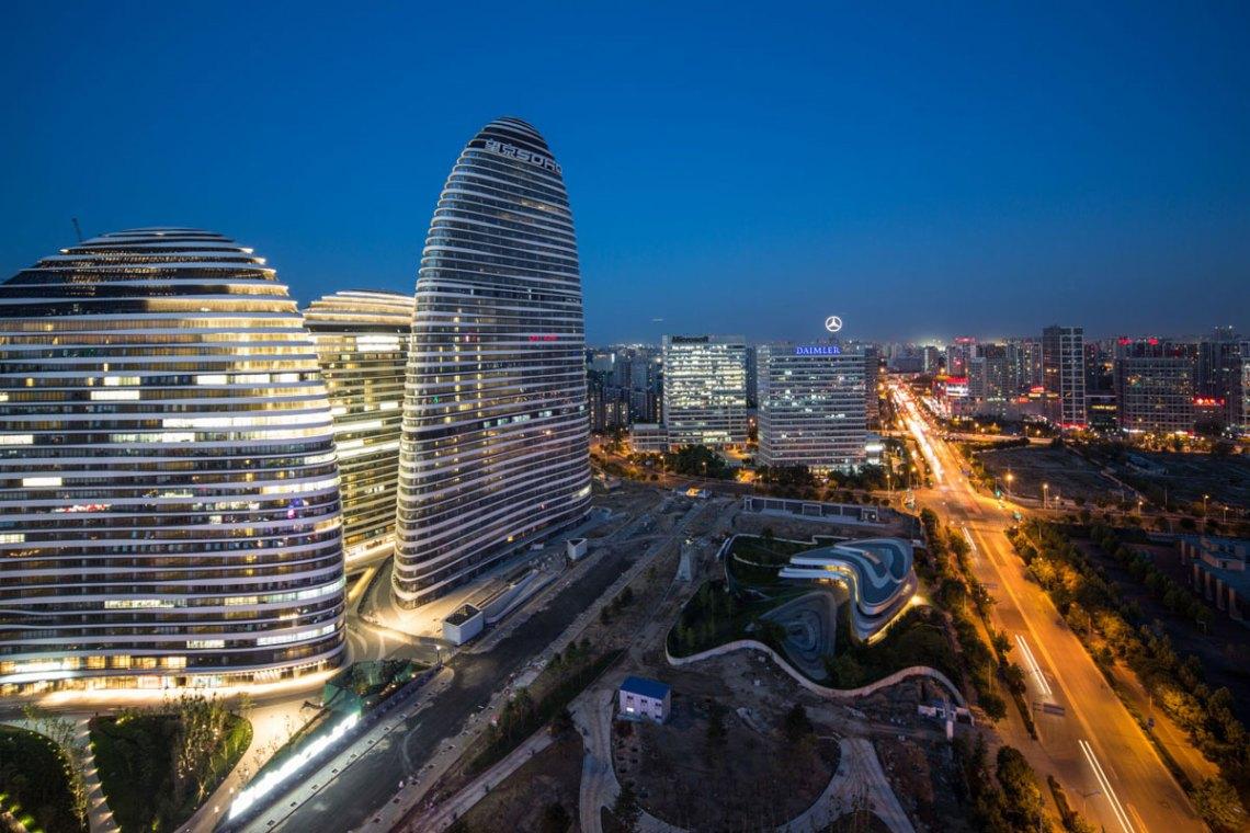 Wangjing SOHO / Zaha Hadid Architects
