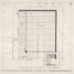 Floor Plan of the Nordic Pavilion in Venice by Sverre fehn