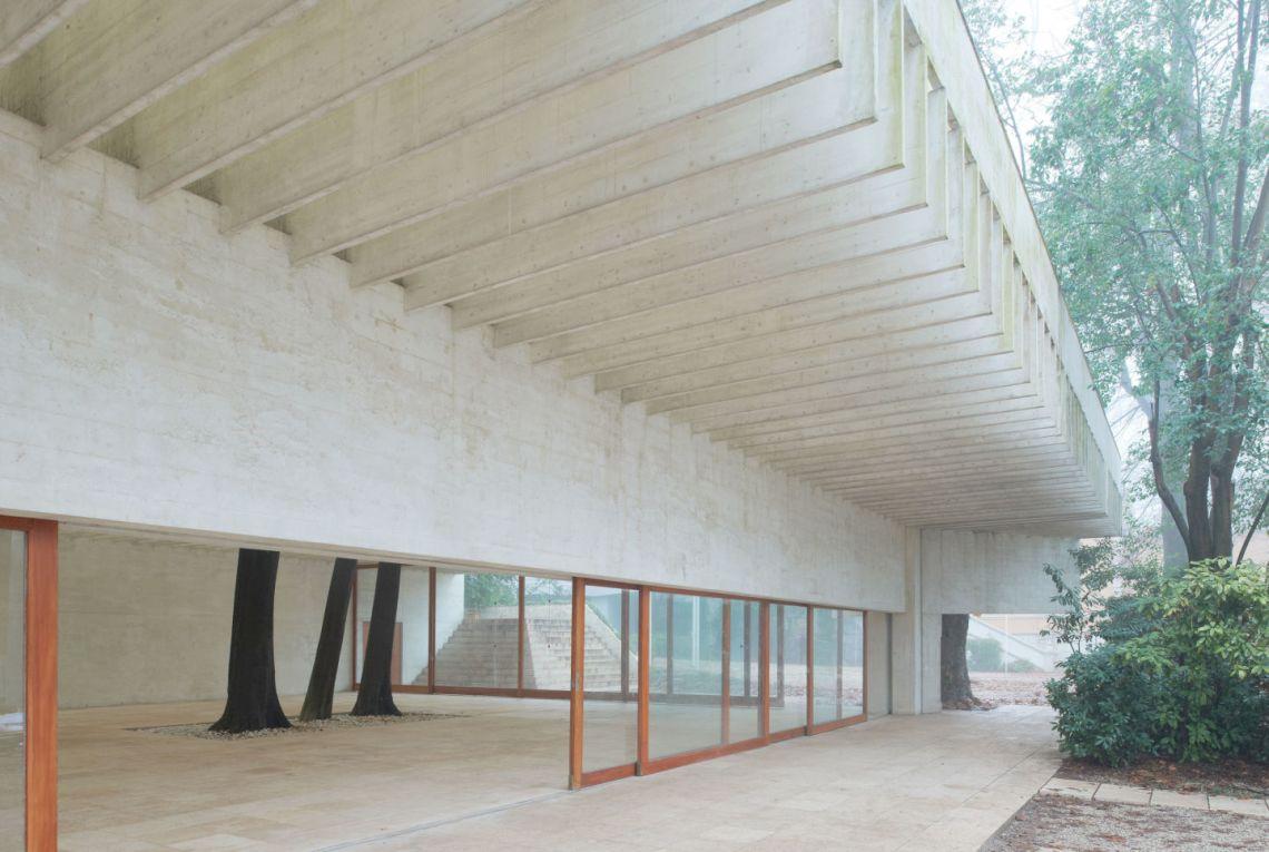 Concrete Structure roof