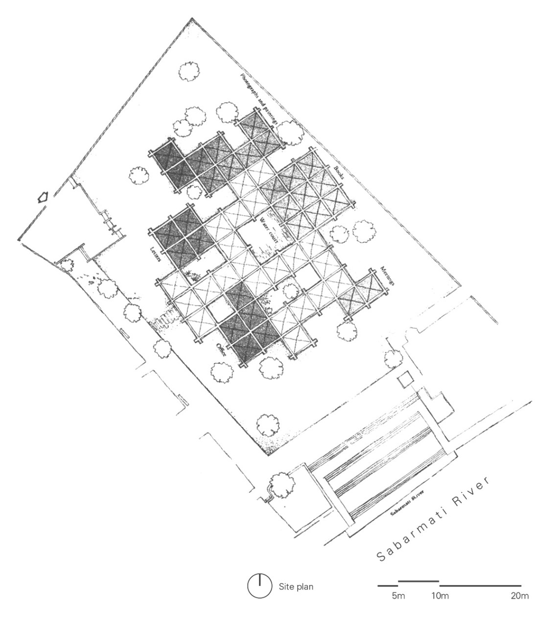Floor Plan of the Museum
