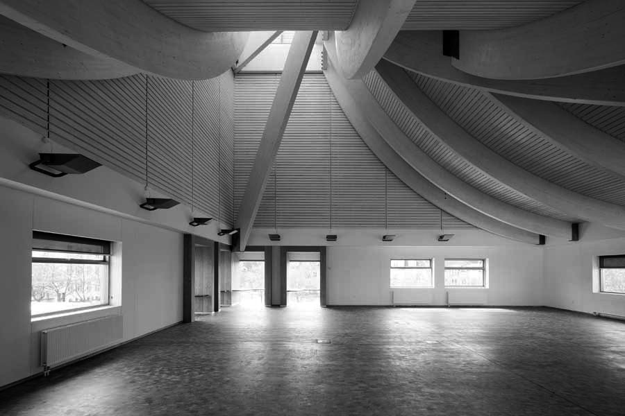 Utzon Center in Aalborg / Jørn Utzon