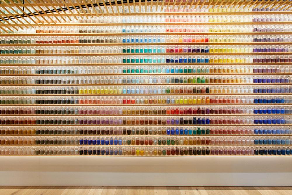 Pigment Shop / Kengo Kuma