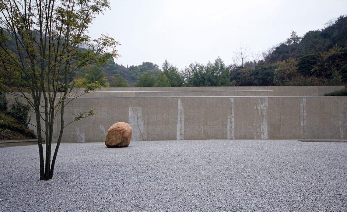 Exterior garden - Benesse House Museum / Tadao Ando