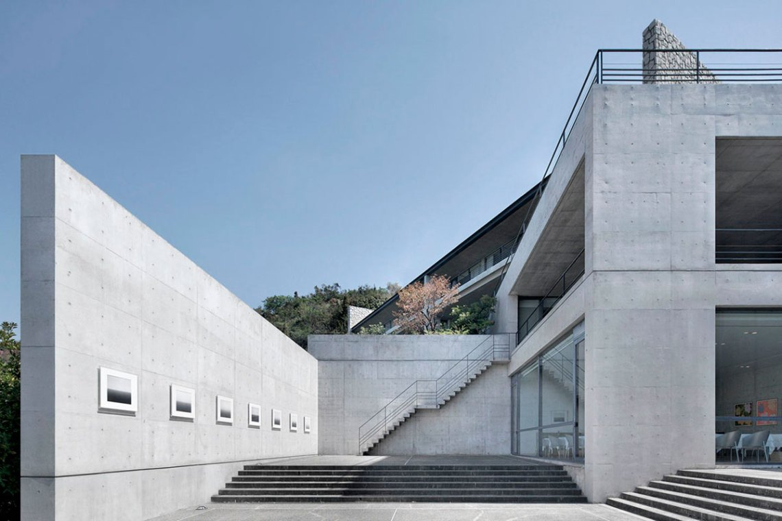 Stairs - Benesse House Museum / Tadao Ando